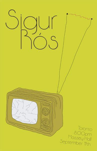 Sigur Ros Band Musik sigur ros carteles conciertos sigur ros band posters