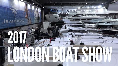 london boat show youtube our visit to the london boat show youtube