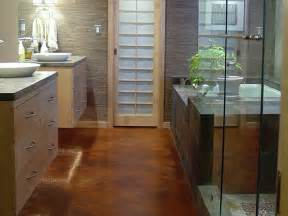 Bathroom Floor Ideas by Bathroom Flooring Options Interior Design Styles And