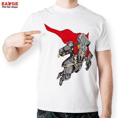 T Shirt Fashion Hammer thor armour carry hammer t shirt inspired by t