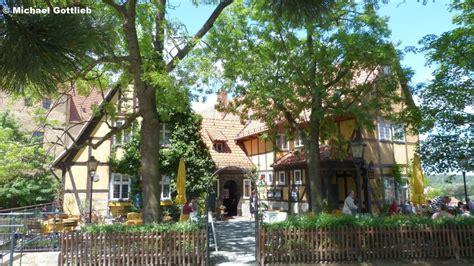 garten quedlinburg garten terrasse am quot schlosskrug quot quedlinburg landkreis