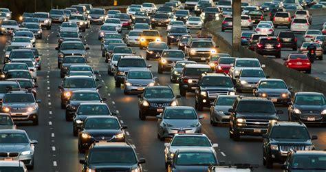 truck jam los angeles los angeles california usa october 6 2016 traffic