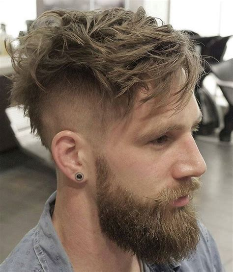 images of long beard short haircut long top short sides hairstyle 5 beard that suits this style
