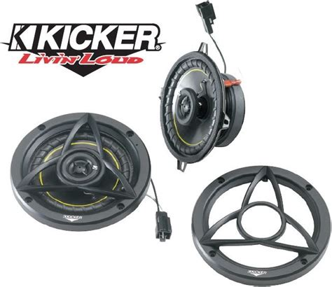 Jeep Wrangler Replacement Speakers Kicker Factory Replacement Overhead Sound Bar Speaker Kits