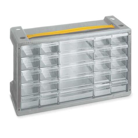 cassettiere plastica prezzi cassettiera portaminuterie in plastica 25 cassetti