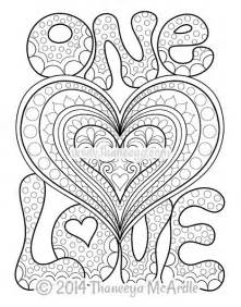 peace and love coloring book by thaneeya mcardle