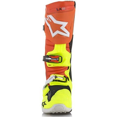Alpinestar Boots Orange alpinestars tech 10 orange fluo blue white yellow