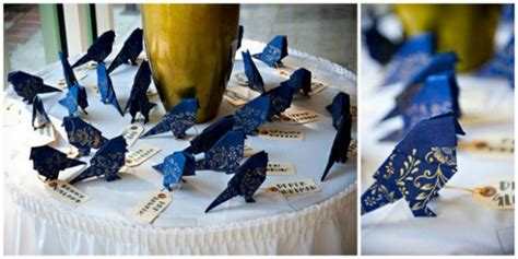 Origami Birds Wedding - the canopy artsy weddings weddings