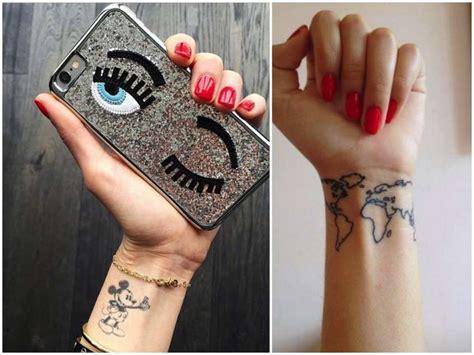 sul polso interno chiara ferragni i tatuaggi e i disegni della fidanzata di