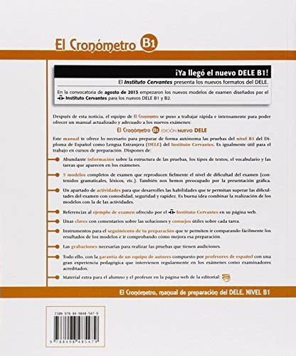 el cronometro b1 edicion cronometro nivel b1 con espansione online con cd per le scuole superiori el corsi di