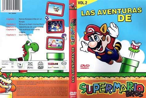 las asombrosas aventuras de car 225 tula caratula de las aventuras de super mario bros volumen 2 captain n the adventures of