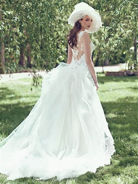 Wedding Dresses Maggie by Maggie Sottero Jovi With Detachable Hoops A
