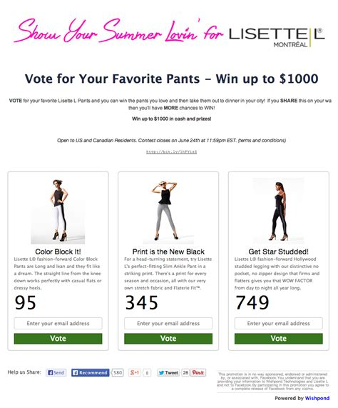 Sweepstakes Facebook Exles - 7 facebook contest and promotion ideas with exles