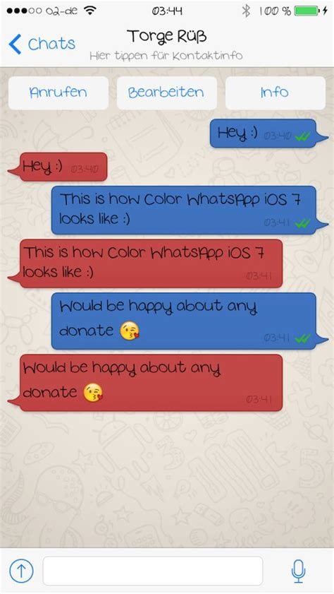 os themes whatsapp color whatsapp for ios 7 thebigboss org iphone