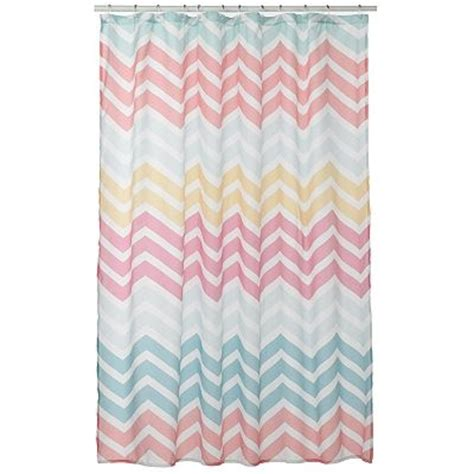 chevron fabric shower curtain 17 best images about shower curtains on pinterest urban