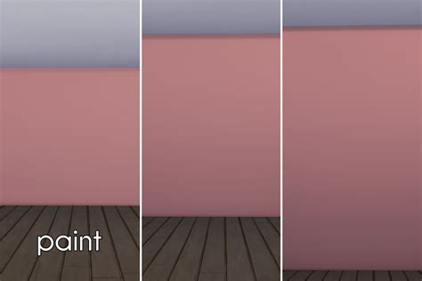 mod the sims coordinating colors part 1 walls