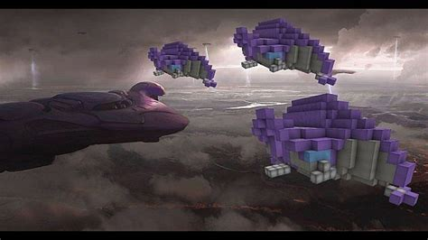 halo type  covenant phantom troop transport
