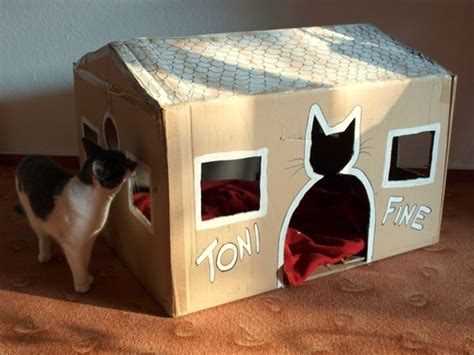 Handmade Cat Beds - 17 best images about diy cardboard on