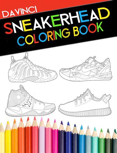 sneaker coloring book sneakerhead coloring book sneaker bar detroit