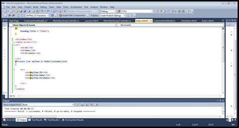 layout cshtml u2 using unidynarray on asp net mvc view page stack