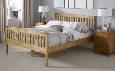 Bed Frame Toronto Toronto Hevea Wood Honey Oak Finish Bed Frame Sensation Sleep Beds And Mattresses