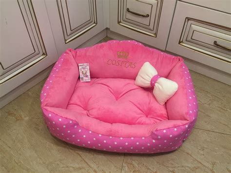 princess dog beds bright pink princess dog bed designer dog bed personalized dog