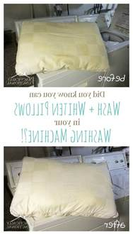Can You Wash A Feather Pillow In The Washer by How To Wash Pillows In The Washing Machine Practically