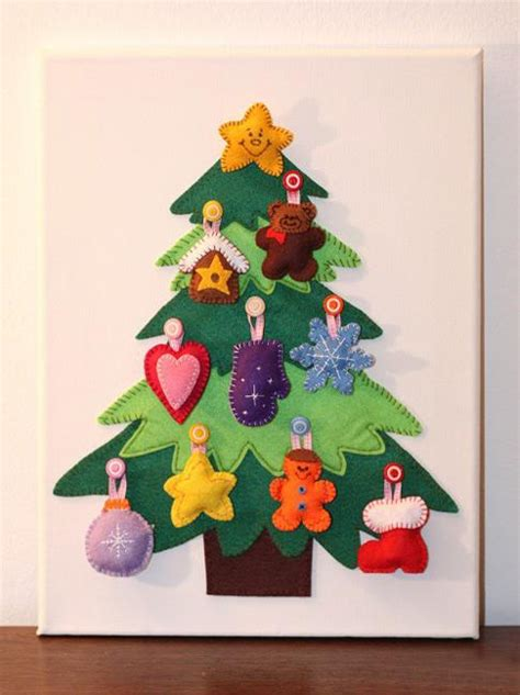 Handmade Tree Decorations Ideas - 40 diy alternative trees adding wall