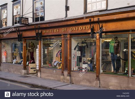 walters of oxford menswear clothing shop turl
