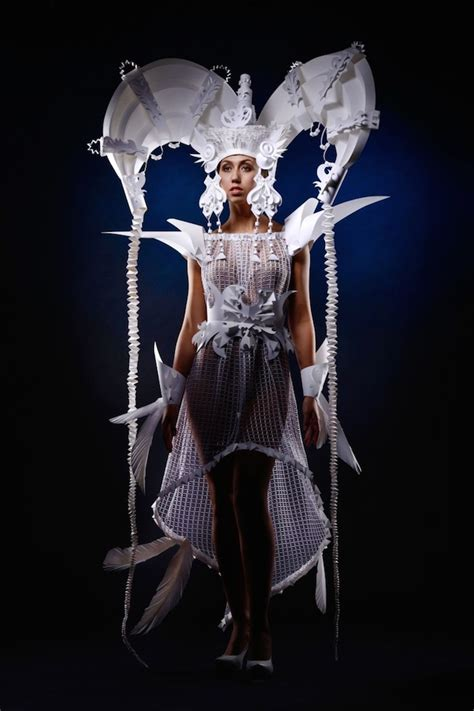 craft costumes folkloric costumes paper craft 11 fubiz media