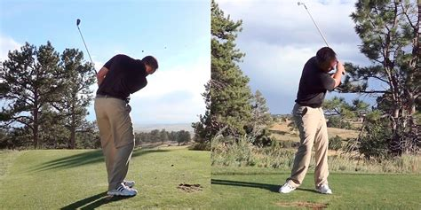 golf swing lesson what creates the worst golf swing possible the golftec