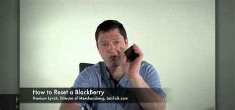 reset blackberry erase all information how to reset a blackberry and erase all information