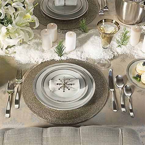 best place to get christmas table winter table bed bath beyond