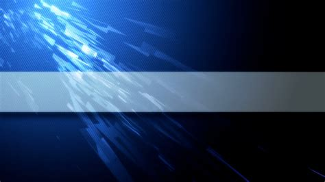 Blue Abstract Video Background With Copy Space For Your Title Headline Jingle News Text Banner Template No Text