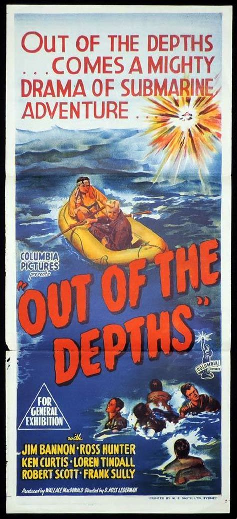 out of the depths out of the depths original daybill movie poster jim bannon ross hunter submarine