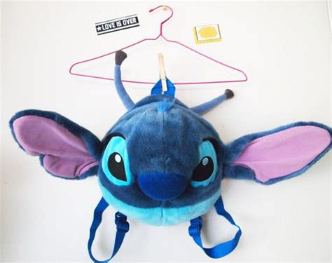 Esgotado Denimo Lilo Backpack Light Blue 17 best images about lilo and stitch merchandise on disney disney characters and