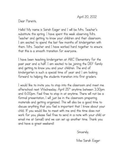 Letter Of Introduction To Your Host Family sle letter to parents when leaving parent ts