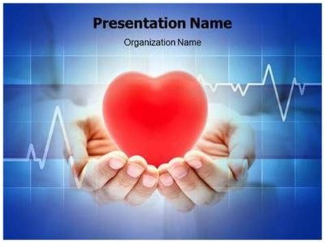 17 best images about heart powerpoint template heart
