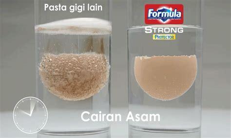 Pasta Gigi Formula Or eggsperimen cara mudah menguji kemuan pasta gigi dalam
