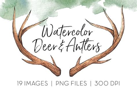 deer antler clip deer antlers clipart the best deer 2017