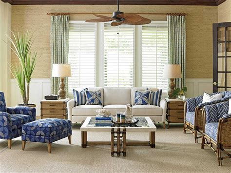 tommy bahama living room tommy bahama twin palms living room set tococolivingset2