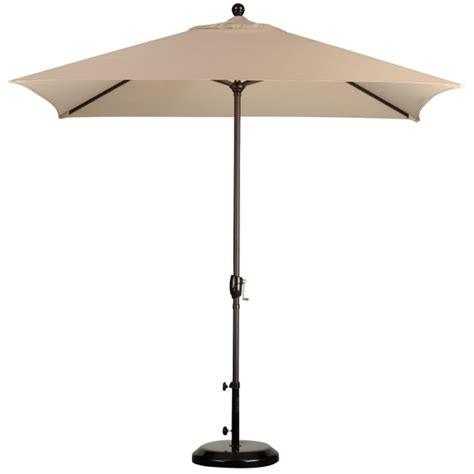 Patio Umbrellas Rectangular by 8 X 6 Rectangular Market Umbrella Leisure Select