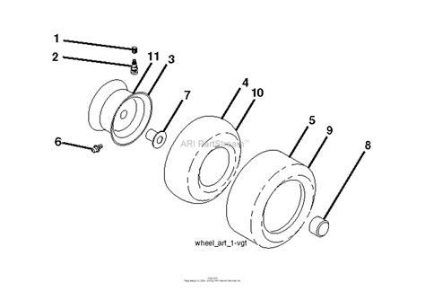 husqvarna ytav    parts diagram  wheels tires