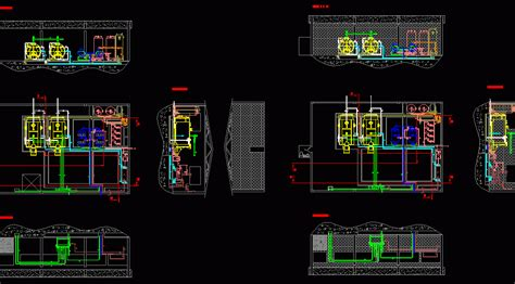machine room  oil transport dwg block  autocad