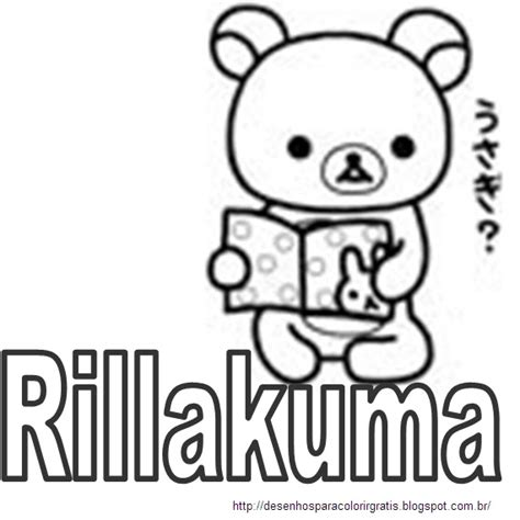 my rilakkuma coloring pages coloring pages