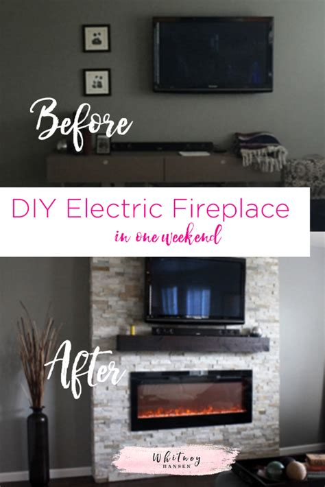 Build Your Own Electric Fireplace by Build Your Own Fireplace Insert Home Design Inspirations