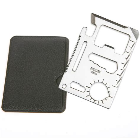 credit card multi tool 11 in1 multi tools survival cing credit card knife