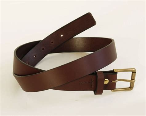 Mens Leather Belts Handmade - mens brown leather belt grain leather belt