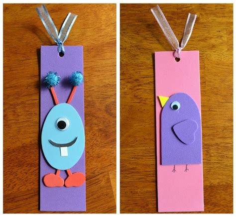 Paper Bookmarks To Make - how to make a paper bookmark