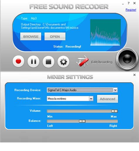 Record Free Free Sound Recorder